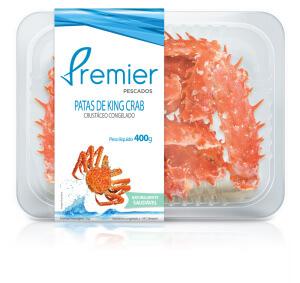 Embalagem de Patas de King Crab