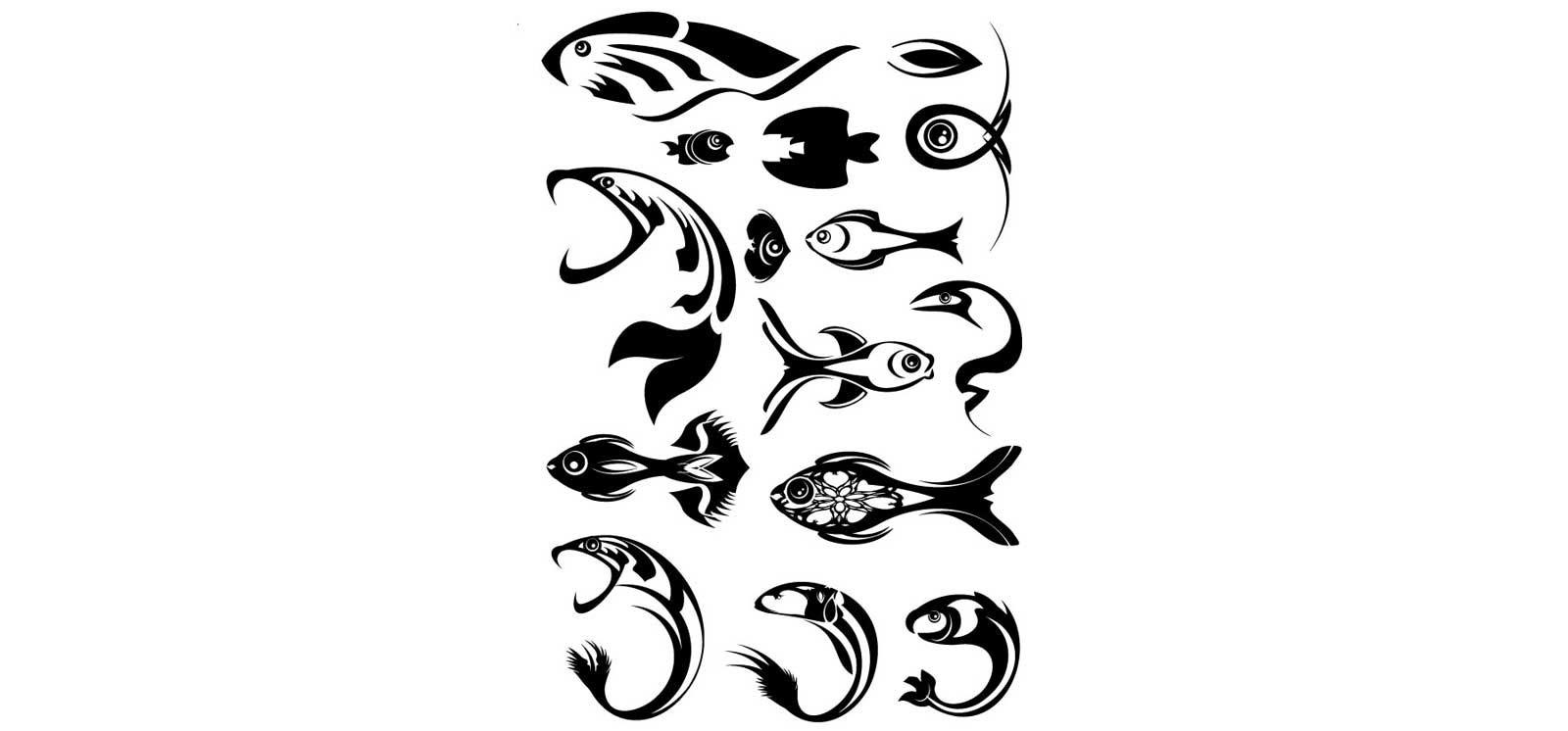 Tatuagens que surgiram no mar: peixes, marinheiros e sereias