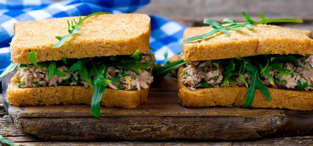 sanduíches de peixe