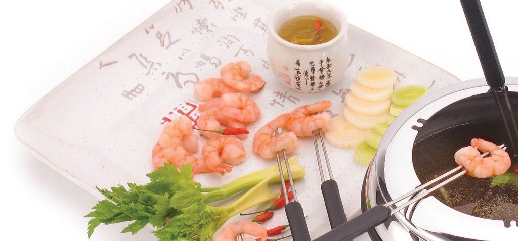 fondue de camarão